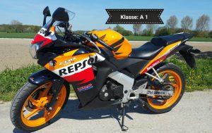 Honda CBR125RC Repsol (Klasse A 1)
